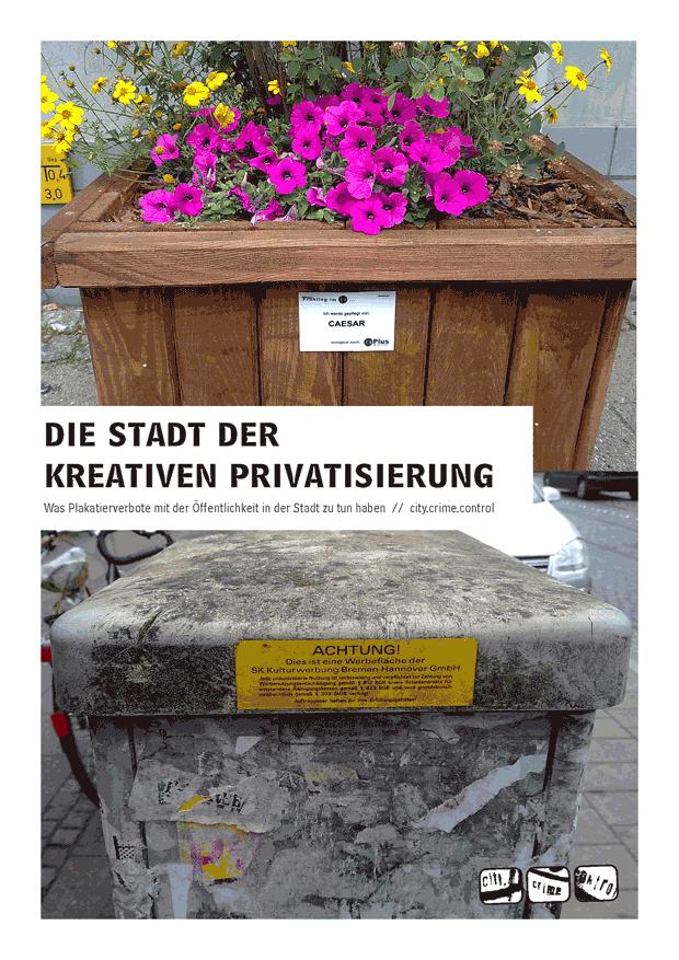 Die Stadt der kreativen Privatisierung